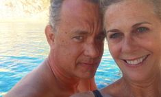 Tom Hanks cuddles up to wife of 28 years Rita Wilson in rare picture perfect selfie - Mirror Online Forrest Gump Actor, Your Smile, Make You Smile, Oscar Winners, Secret To Success, Rare Pictures, When You Love, Couple Goals