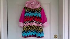 Child's Multicolor Car Coat 3 years C59/15 by zoya49 on Etsy