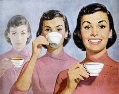 lipton tea 1956 cup o joy