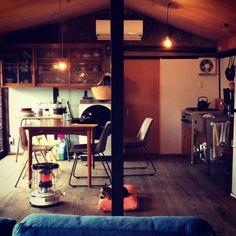 アルパカストーブ/ストーブ/ソファ/ねこ/部屋全体のインテリア実例 - 2015-01-17 21:06:50 | RoomClip(ルームクリップ)
