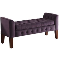 JC PenneyTufted Two-Arm Storage Bench