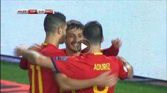 WATCH: Spain score two in 75 seconds