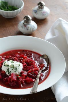 Until I made this soup, I have never had Borscht in my life, which is strange because my dad has Russian roots…but what's even stranger is that I had been craving this soup for a good month before ...