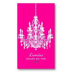 21 best hot pink business cards images on pinterest business card pixdezines pinkwhite chandelierdiy background business card fbccfo Images