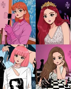 pink Anime Dibujos A Lapiz Chibi Chibi Anime, Kawaii Anime, Body Tattoo Design, Design Tattoos, Kpop Drawings, Blackpink Memes, Black Pink Kpop, Blackpink Photos, Blackpink Fashion