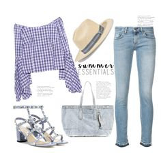 """Summer essentials (Top Set 17 March 17 - thanx PV ❤)"" by badassbabyboomer ❤ liked on Polyvore featuring rag & bone/JEAN, Valentino, Petersyn, 3.1 Phillip Lim and Sensi Studio"