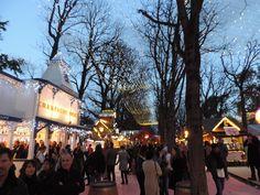 Christmas fair on the Champs d'Elysses