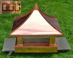 CBD's CFunctional/Decorative Custom Copper Sheet Metal Chimney Cap Main Information & Navigation Page