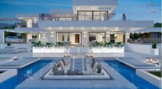 Villa de lujo contemporáneo Pecatu Bali Construcción y