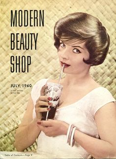 Modern Beauty Shop Magazine, Lot of Three Vintage Hair Salon Periodicals published 1960  1961