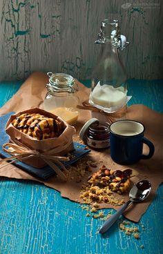 Sweet cookies & milk