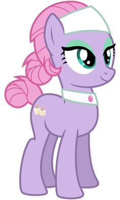 """Another pony from """"spice up your life"""" that caught my eye, she's only seen for a couple shots during the song. Enjoy"""