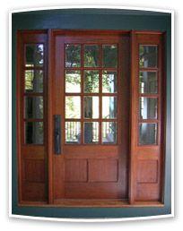 1000 images about great front doors on pinterest front for Wood front door with storm door