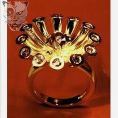 Tube set flower ring