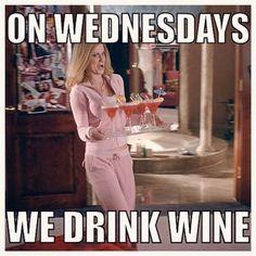 Just on Wednesdays?  #winewednesday #winelovers #enjoy #WineMemes