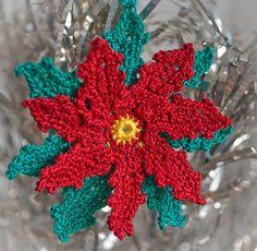Crochet Pointsettia