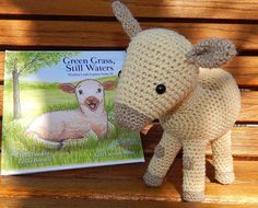 Christmas is coming!  Looking for gifts to crochet?  Order Green Grass, Still Waters  between today & November 18, 2018 for $14.99, & request Amigurumi crochet patterns of two of the characters for FREE when you check out!  Package  is 60% off  total retail price. Crochet Sheep, Crochet Hats, Green Grass, Wool Yarn, Lamb, Nativity, Crochet Patterns, Faith, Handmade Gifts