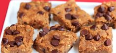 nutella blondies