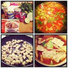 365 Days Of Vegan Food   Vegan Crock-Pot Tortilla Soup