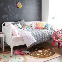 The Nod Family Home: Kids Room. Love the doughnut rug!