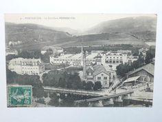 Belle carte postale ancienne 9 - PONTARLIER La Distillerie PERNOD Fils