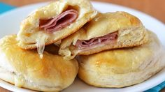 For a simple supper upgrade, stuff biscuits with honey, ham and cheese to make a meal-worthy biscuit sammie.