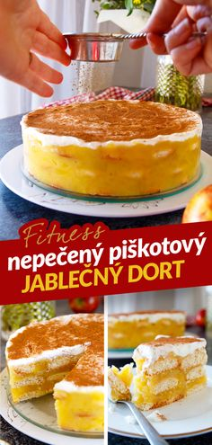Czech Recipes, Ethnic Recipes, Dessert Recipes, Desserts, Recipe Box, Recipies, Cheesecake, Clean Eating, Health Fitness