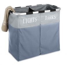Whitmor Collapsible Hamper - Double