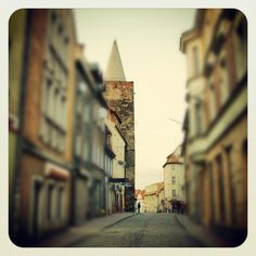 medieval pearl #photography #town #whpmyhometown #street #tower