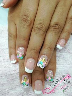 Home nail garden decor nail background How To Care For You New Nail Designs, Black Nail Designs, Nail Designs Spring, Acrylic Nail Designs, Red Nails, Glitter Nails, Nails Design With Rhinestones, Unicorn Nails, Girls Nails
