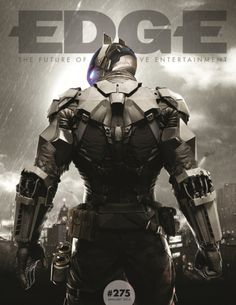 Batman: Arkham Knight Featured On Edge Magazine Cover.  More about batman here.