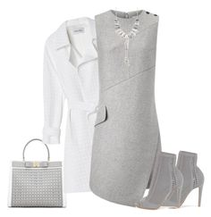 A fashion look from February 2017 featuring white trench coat, high heel bootie and short necklaces. Walk Of Shame, Yep Yep, Vivienne Westwood, Cool Outfits, Polyvore, Dresses, Fashion, Vestidos, Moda