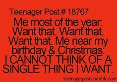 Teenager Posts Of The Week: Wake Me Up When It's Christmas Break