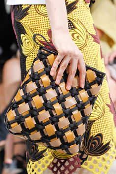 woven leather bags from Marni