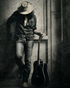♫♪ Music ♪♫ instrument musician black & white