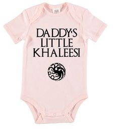 Game of Thrones onesie. Khaleesi onesie - baby onesie - daenerys targaryen oneise by LittleRedFoxes on Etsy (null)