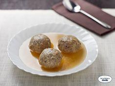 Tyrolean Canederli (Bread Dumpling Soup)