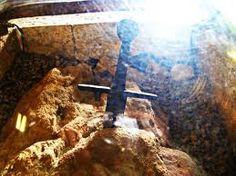San Galgano sword