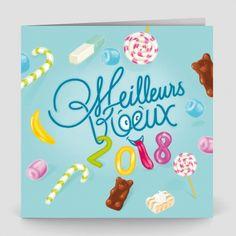 Carte De Voeux Bonbon