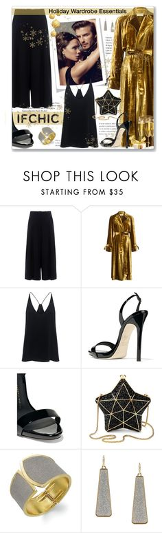"""Holiday Wardrobe Essentials"" by leanne-mcclean ❤ liked on Polyvore featuring Sea, New York, David Beckham, A.L.C., TIBI, Giuseppe Zanotti, Aspinal of London and ABS by Allen Schwartz"
