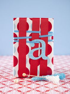 Cute idea.  I wouldn't do it for all presents it could get expensive buying all of the ribbon. Going to start looking for ribbon that is on clearence.