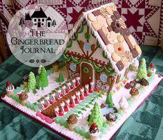 gingerbread house Christmas lebkuchenhaus