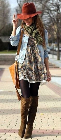 inspirational boho style outfit | the taste of petrol and porcelain