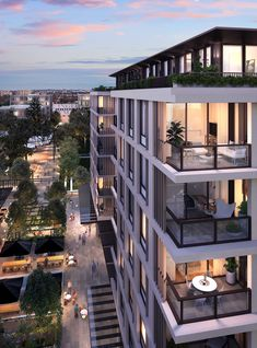 Newmarket Randwick - Apartments for sale in Randwick, New South Wales Residential Building Design, Architecture Building Design, Hotel Architecture, Building Exterior, Building Facade, Facade Design, Residential Architecture, Exterior Design, Facade House
