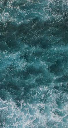 Water Aesthetic, Beach Aesthetic, Water Waves, Ocean Waves, Aesthetic Backgrounds, Aesthetic Wallpapers, Cellphone Wallpaper, Iphone Wallpaper, Mobile Wallpaper