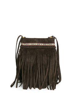 brown mini handbag