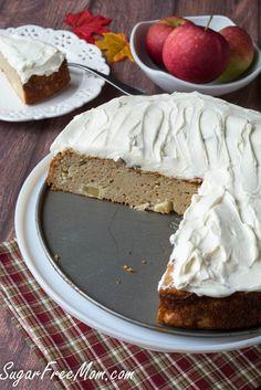 Super Moist Gluten Free Apple Cake/ no sugar added