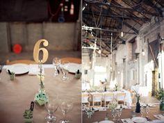 Industrial New York Wedding/Ruffled