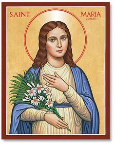 Monastery Icons | Saint Maria Goretti