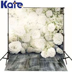 Kate No Creases Photography Backdrops White by katehome2014